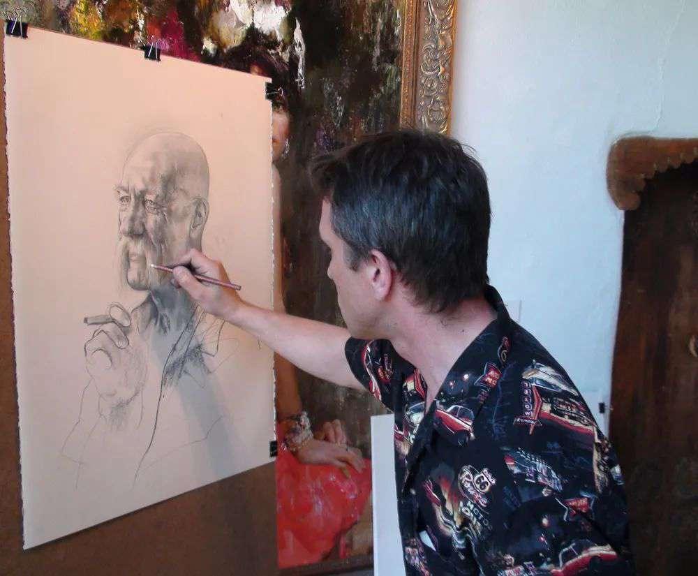 广州艺考画室建议一定要欣赏的大师作品——尼古拉·布洛欣