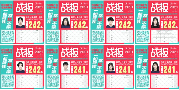 广州美术画室首家实名公布成绩丨2021届人艺美术一如既往,当红不让!图十二